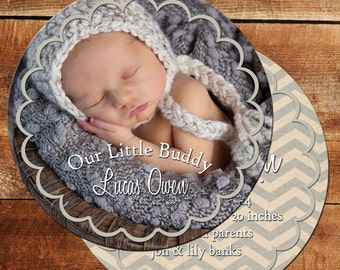 Photo Birth Announcement Card   It's a Girl Cards   It's a Boy Cards   DM3023