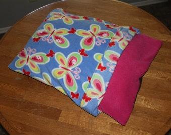 Beautiful Fleece Butterfly Bed
