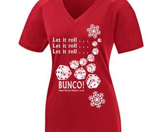 Bunco T-shirt - Let It Roll