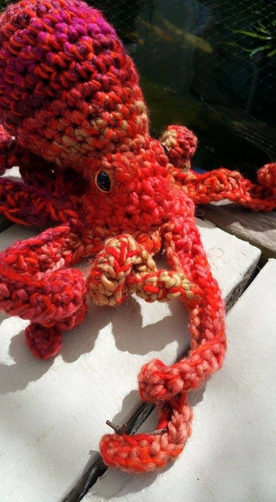Giant Pacific Octopus Realistic Amigurumi Crochet Pattern ...