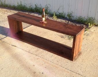 Luxurious Black Walnut Media/Entertainment Stand
