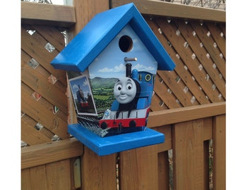 Thomas The Train Birdhouse