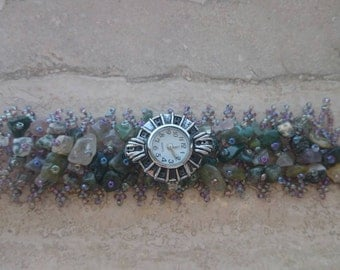 PRICE REDUCTION- Spring mix watch bracelet by Ashley3535