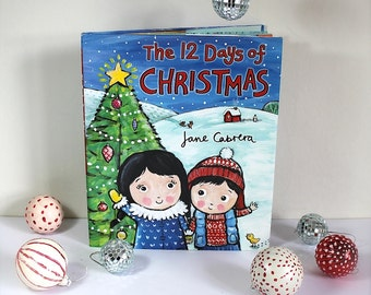 The 12 Days of Christmas, signed children's book
