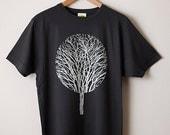 Urban Forest T Shirt  Tree T Shirt Forest T Shirt Graphic T Shirt Screenprint T Shirt Mens Screenprinted Tee Cool Tee Nature T Shirt