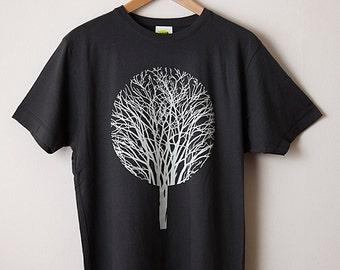 Urban Forest T Shirt / Tree T Shirt, Forest T Shirt, Graphic T Shirt, Screenprint T Shirt, Mens Screenprinted Tee, Cool Tee, Nature T Shirt