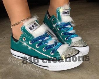 Custom Furry Converse
