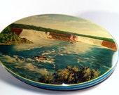 Horner of England Antique Tin Niagara Falls Scene
