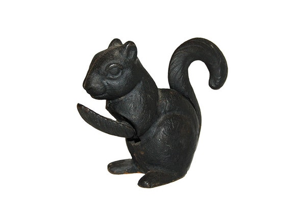 Vintage cast iron squirrel nut cracker - Squirrel nut crackers ...