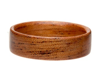 Wooden Ring -Mahogany Bentwood Wooden Ring