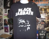 Black Sabbath T-Shirt (FREE SHIPPING in Usa Only) Ozzy Osbourne Doom Metal Heavy Sweet Leaf Paranoid Vol 4 Master of Reality