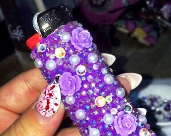 Spark My Heart Bling Lighter with Add-Ons