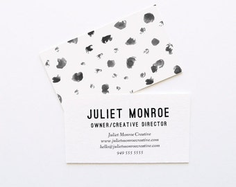 Dots It Business Cards // DIY Business Cards // Printable Business Cards // Instant Download Business Cards