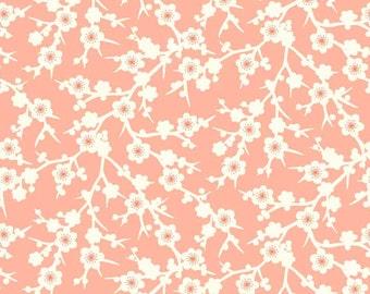 Makower Temptations Blossom Pink Fabric - 100% Cotton