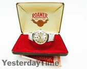 Roamer Stingray 44 Mens Watch 1968 Swiss Made 44 Jewel Rotopower Automatic Movement Stainless Steel Case