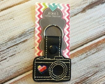 Camera Keychain - Photographer Keychain -  Photography Gift - Camera Gift