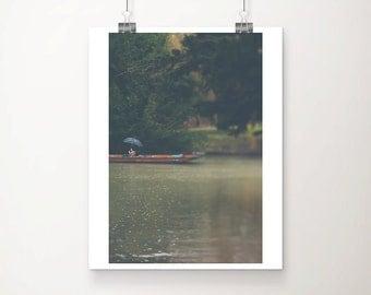 cambridge photograph punting photograph river cam photograph travel photography umbrella photograph rain photograph english decor