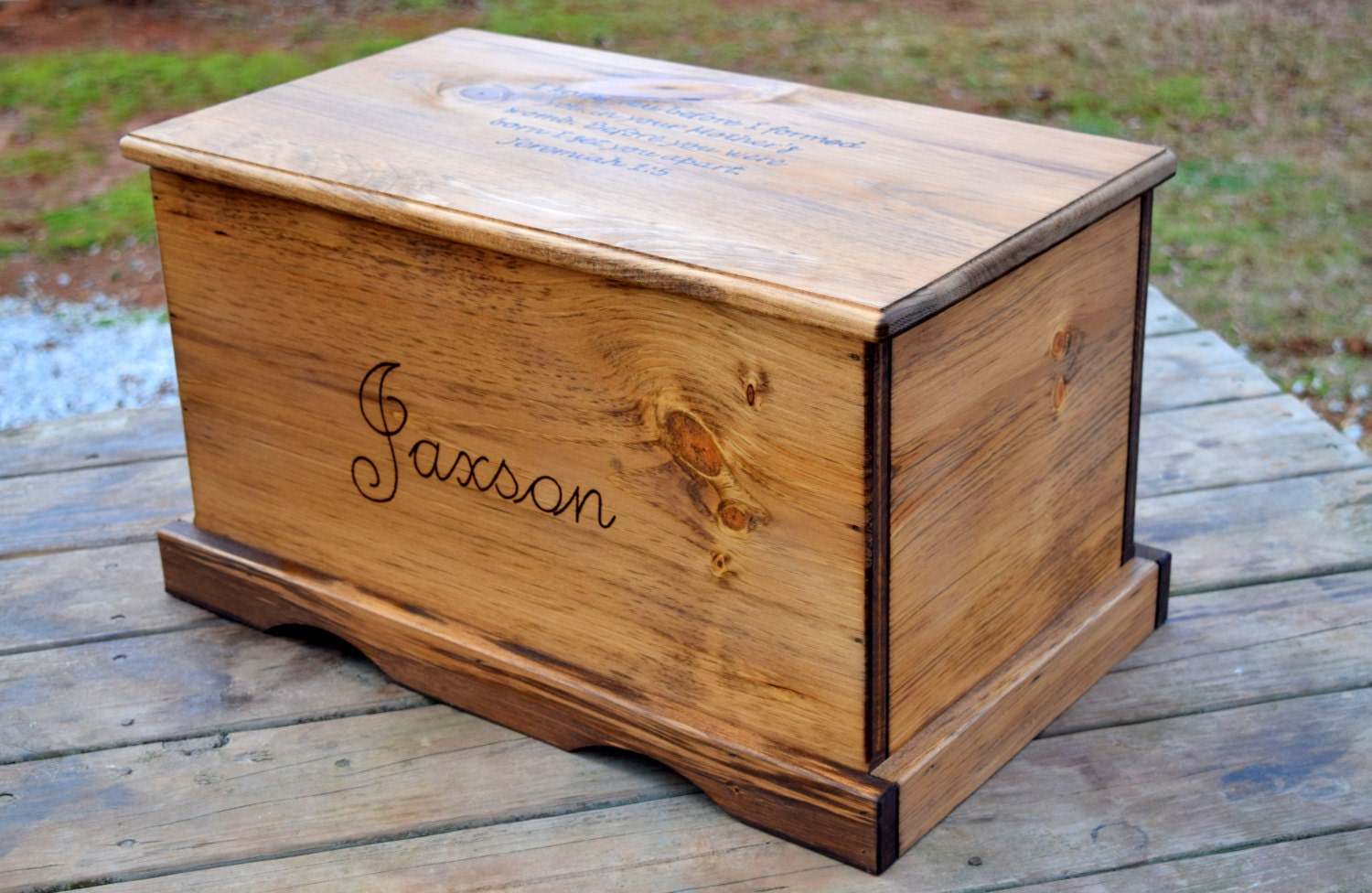 Large Kids Toy Chest Wooden Chest Keepsake Box Memory