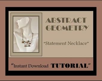 INSTANT DOWNLOAD,Jewelry Tutorials,Necklace tutorial,craft gift ideas,cool gift ideas, jewelry lovers gift,tutorials,mother daughter jewelry