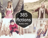 300+ Pro Photoshop Actions Bundle