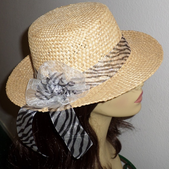 stylish straw hat for hats for by sugarbearhair