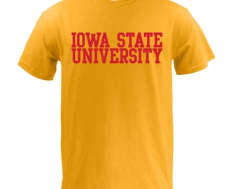 Block Iowa State - Gold