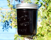 Black Cherry and Almond jam, Naturally grown, 8 oz jar, Oregon, Pacific Northwest