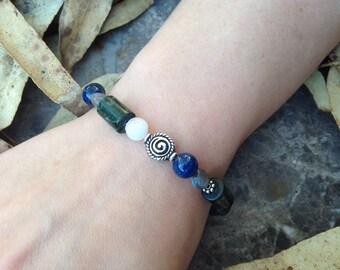 Lady of the Lake Crystal Energy Bracelet