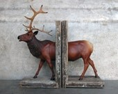 EQUINE COLLECTION elk bookend