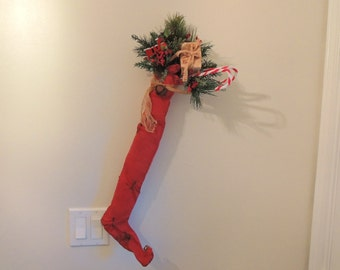Santa's Elf Stocking