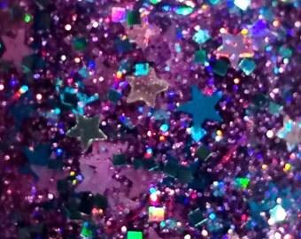 Bang, Bang---handmade glitter nail polish
