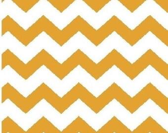 1/2 inch Chevron --- Gold Chevron --- Small Chevron --- Fabric By The Yard