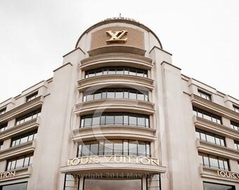 Louis Vuitton Art, Louis Vuitton Photography, Paris photos, Paris Decor 8 x 10, Fashion Art, LV