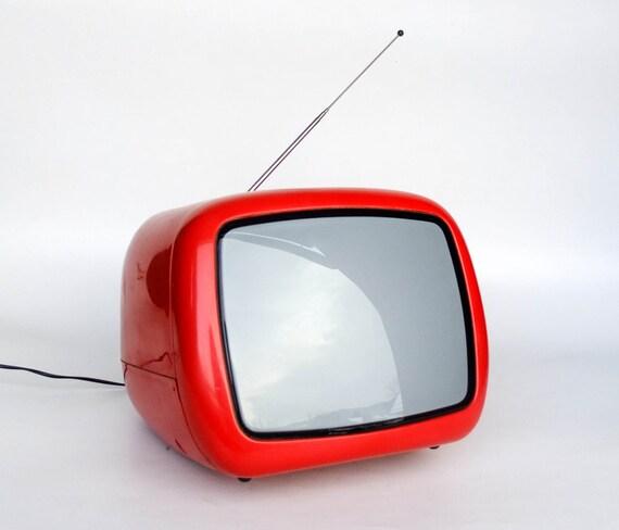 Portable T V S : Vintage portable tv set from yugoslavia iskra minirama