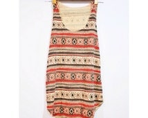 Egyptian Indian Aztec Tank Top Printed Tribal T-Shirt Canvas Vintage Woman Red Tee Shirt Singlet Vest BUY 2 GET 1 FREE