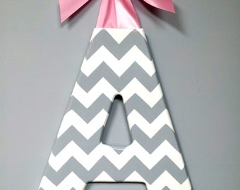 Wood Letter  Chevron