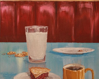 Giclee Print of Diner Booth