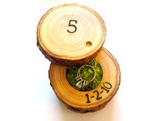 5th Anniversary Gift, Wood Anniversary Ring Box