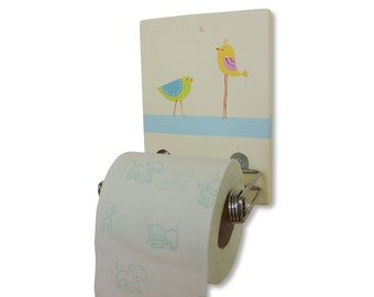 Toilet paper holder bathroom decor kids design tp holder Kids toilet paper holder