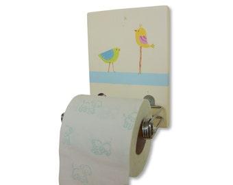 Toilet Paper Holder Bathroom Decor Kids Design Tp Holder