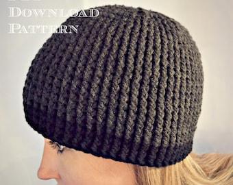 CROCHET PATTERN-Gavin Guy Beanie, Crochet hat pattern, beanie pattern, teen crochet pattern, hat pattern, mens hat