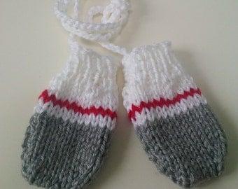 Work Sock Baby Mittens