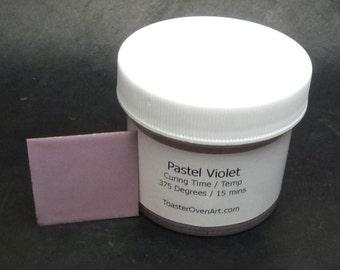 Pastel Violet Powder Paint