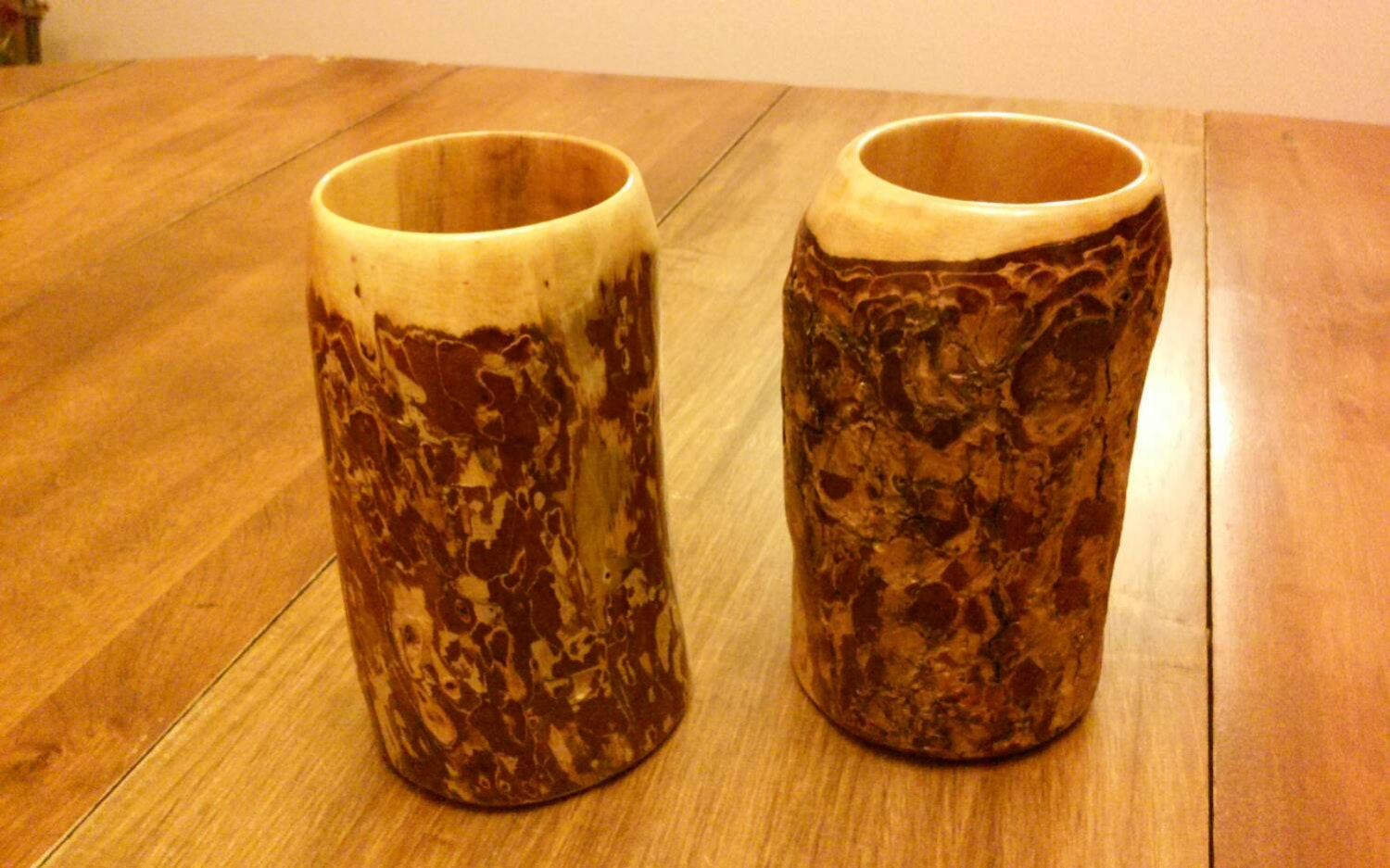 Wooden Drinking Cups Wood Cups Sca Cups Medieval Viking