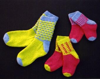 Fixation Socks pattern for the Hand Knitter