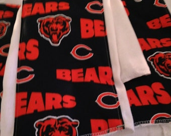 Chicago Bears burp cloth