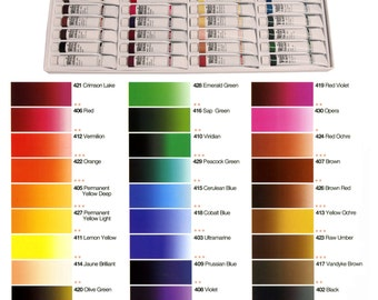Shinhan Artists Watercolor Paints Individual 12 ml Tube / Each color