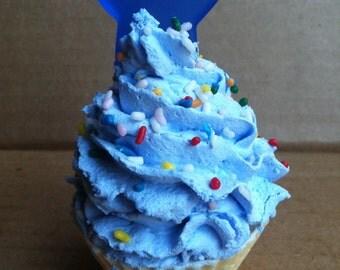 Blue Cupcake Soaps