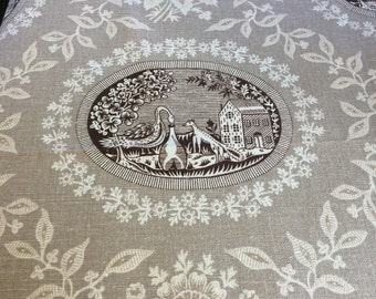 Vintage Minuet Waverly Fabric by the Yard.
