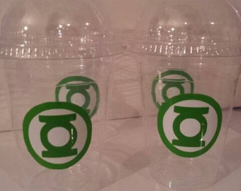 Green Lantern 16 oz Party Favor Cups